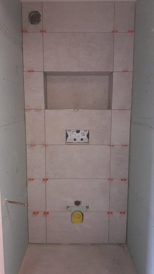 Nieuwe toiletruimte