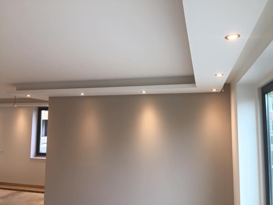 Lichtkoof woonkamer en keuken